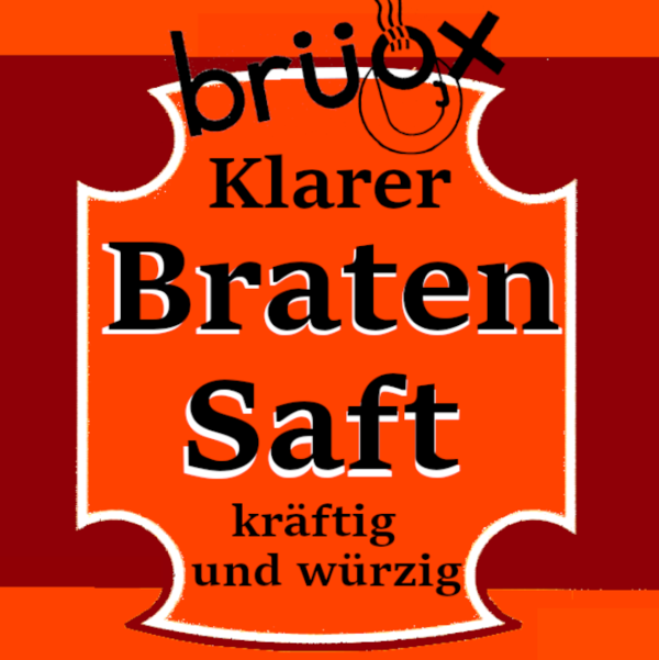 DAS ORIGINAL BRÜOX       Bratensaft Paste 5 kg Eimer
