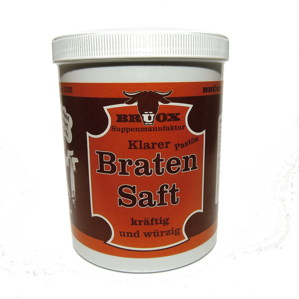 DAS ORIGINAL BRÜOX       Bratensaft Paste 765g